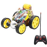 hownnery 電気RCスタントカー玩具トラックワイヤレスリモートタンブリングキッズおもちゃギフト