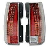 エスカレード 2007-2014 LEDテール ライト オレンジウインカー レッドインナー