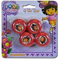 Dora The Explorer 4Pk Mini Yo Yo by bulk buys [並行輸入品]