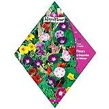 [つる性植物のミックス 春まき 花タネ][フランス花の種]クライミングフラワーガーデンミックス 1袋 ノーブランド品