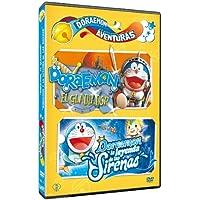 映画ドラえもん のび太とロボット王国+のび太の人魚大海戦(スペイン語) dvd / Pack Doraemon Aventuras: El Gladiador + La Leyenda De Las Sirenas