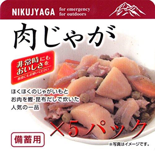 東和食彩 備蓄用 肉じゃが200g 5パックセット