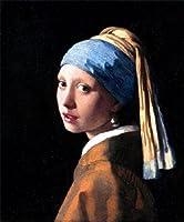 フェルメール・「真珠の耳飾りの少女」・プリキャンバス複製画・ギャラリーラップ仕上げ(F8サイズ)
