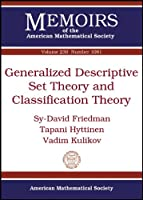 Generalized Descriptive Set Theory and Classification Theory (Memoirs of the American Mathematical Society)