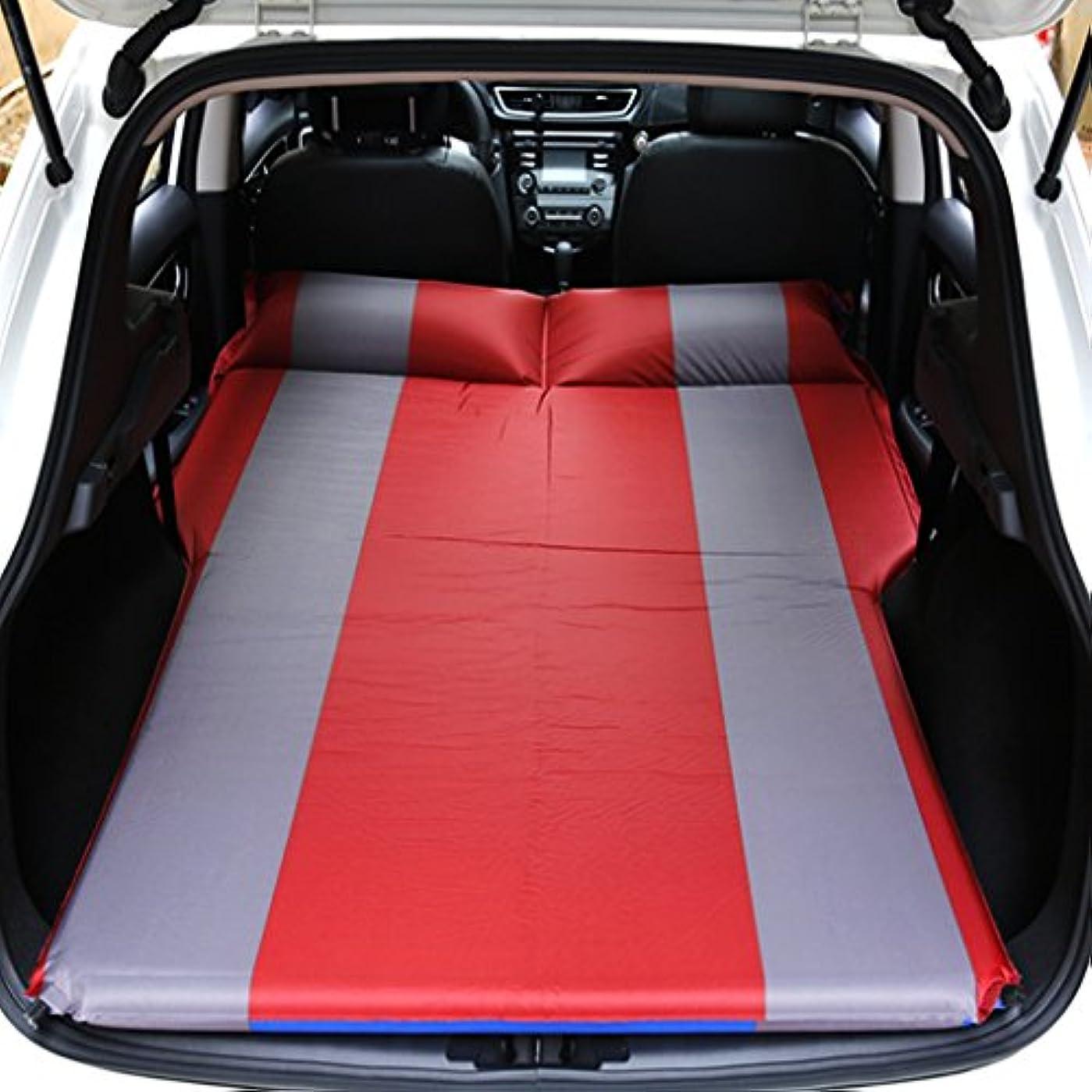 干渉宣伝とにかくGYP インフレータブルマットレスナップアウトドアキャンプキャンプ湿気から車旅行ベッドカーベッドカーショック - プルーフパッドオフ - ロード車車の使用 (色 : B)