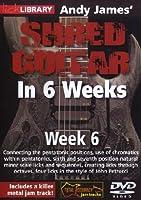 Andy James Shred Guitar in 6 Weeks: Week 6 [DVD] [Import]