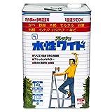ニッペ 多用途塗料 水性フレッシュワイド ホワイト(しろ) 14L