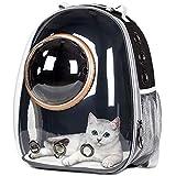 の宇宙カプセル通気性車バイク窓バブル猫犬旅行キャリーバッグ透明ペットキャリアバックパック