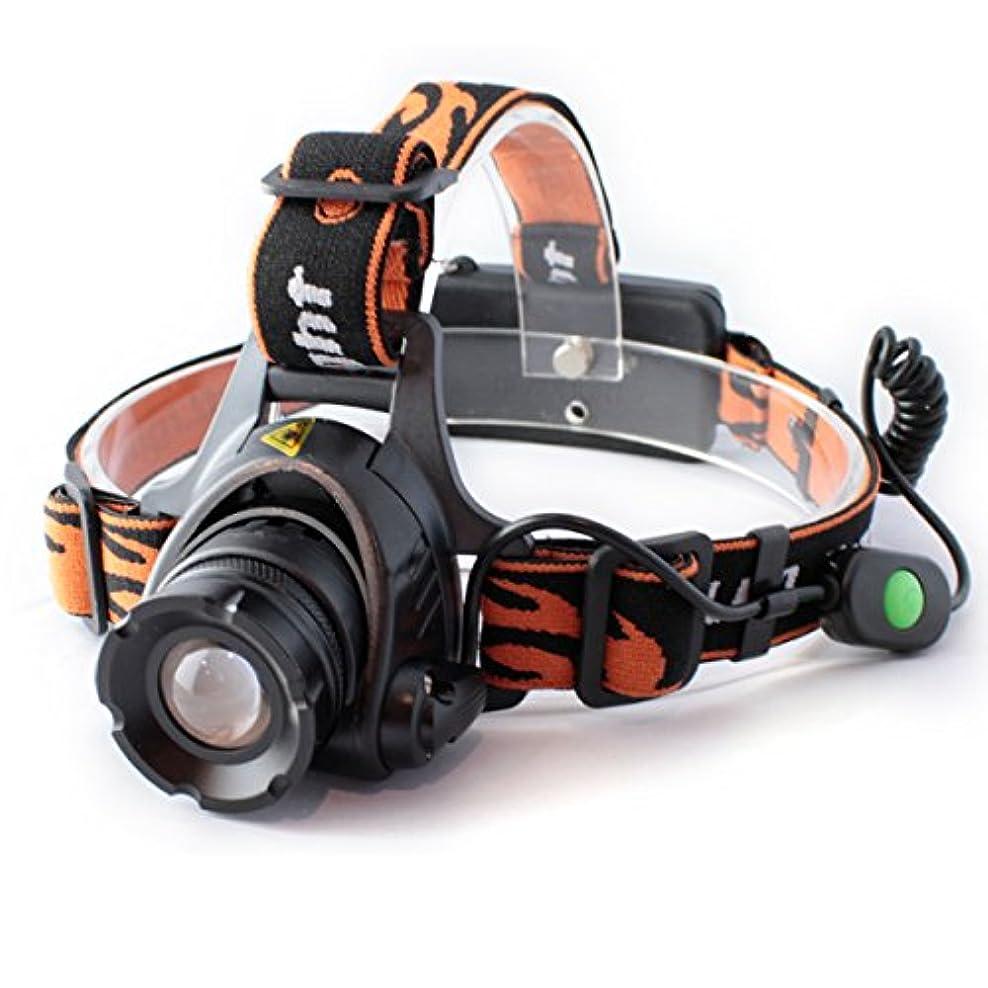 自発上下するまだ【THE WORLDオリジナル】 ヘッドライト LEDヘッドライト 懐中電灯 LED懐中電灯 2500lm HL-017 fl-sh013 【電池?充電器セット】