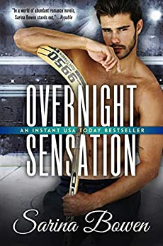 Overnight Sensation: A Hockey Romance (Brooklyn Book 2) by [Bowen, Sarina]