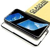 Gdoo iPhoneX用強化ガラス液晶保護フィルム 硬度9H/0.2mm/高感度タッチ/高透過率/防塵/ガイド枠付き/一枚
