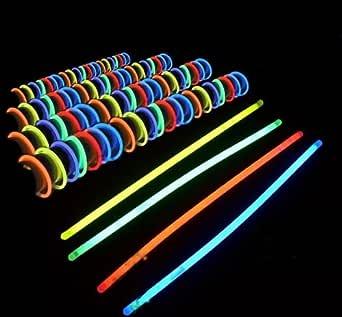 祭りはもちろん、ライブ・コンサート会場やバーでも!光るブレスレット・ネックレス 50本セット!!!