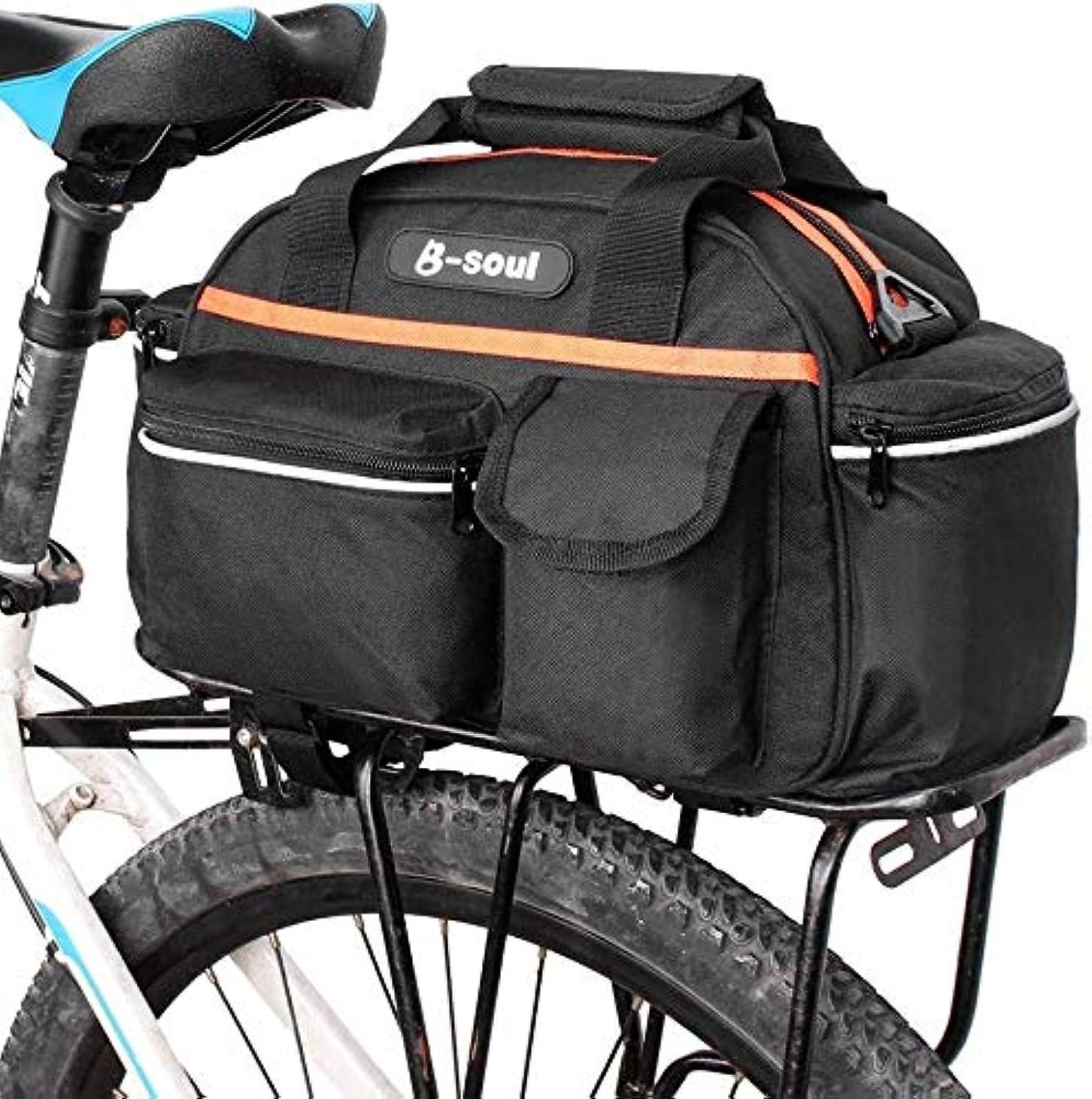 露出度の高いもっとだらしないバイクリアシートバッグ15L - トランクバスケットパニアバッグサイクリング荷物預かりケースラック