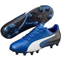 PUMA Boys Evospeed 17.5 Fg Jr Tb, Blue, Football Boots
