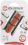 Clarks XTR Patins de freins type V Noir Patins de rechange Rouge