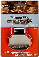 Crampbuster CB2-C Chrome Throttle Mounted Motorcycle Cruise Assist [並行輸入品]