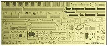 ハセガワ 1/350 日本海軍 航空母艦 隼鷹 ディテールアップ エッチングパーツ ベーシックB プラモデル用パーツ QG64