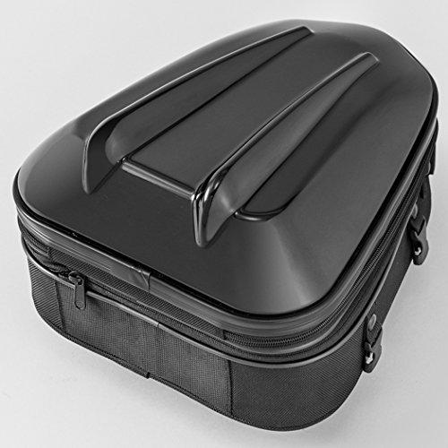 タナックス(TANAX) MOTOFIZZ バイクシートバック  シェルシートバックMT/ブラック [容量10-14ℓ] MFK-238