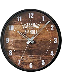 MAG(マグ) 掛け時計 ブラック 250x250x40mm ウォールクロック ミドルサイズ掛け時計 W-735 BK-Z