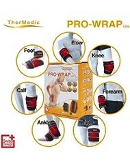 TherMedic 家庭用温熱治療器 (遠赤外線/赤外線日本製炭素繊維織物/肘、膝関節痛、大腿、脛筋肉痛)PW150L