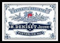 Deniset Jeune Absinthe Distilleryラベル印刷