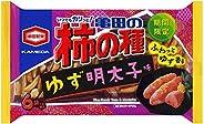 亀田製菓 亀田の柿の種ゆず明太子味6袋詰 182g ×12袋