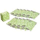 ワイズコーポレーション 使い捨てエチケットボックス10個セット 12.5×8.5×12.7cm(組立時)