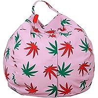 Demiawaking 収納袋 収納バッグ ぬいぐるみおもちゃ/衣類 多目的 仕上げ袋 S