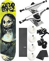 """ゼロスケートボードVandalismスケートボード8"""" x 31.6"""" Complete Skateboard–7項目のバンドル"""