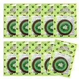 ピュアスマイル ジューシーポイントパッド キウィ10パックセット(1パック10枚入 合計100枚)