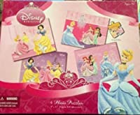Dinseyプリンセス4Photo Puzzle each 100pieces by Disney