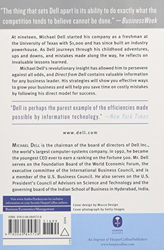 what makes michael dell so successful essay Michael dell states that dell is so successful because of knowledge management from mmugm 009 at universitas gadjah mada  essay uploaded by  michael dell.