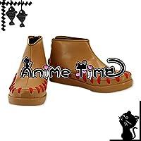 ●●サイズ選択可●●女性24CM MJR1704 コスプレ靴 ブーツ ファイアーエムブレムif 白夜王国 タクミ