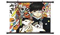 東京喰種トーキョーグールアニメファブリック壁スクロールポスター( 32x 30)インチ
