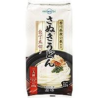 石丸製麺 miwabi さぬきうどん包丁太切り 240g(めん200g、つゆ20ml×2)×15個