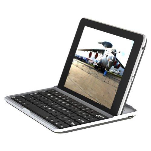 [Present-web] Google Nexus7 (2012) (ネクサス7) ワイヤレス Bluetooth キーボード スタンド カバー Keyboard Present-webオリジナル日本語説明書付