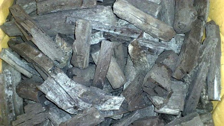 怪しい品種手がかり紀州産火付け用カシ黒炭(3kg)