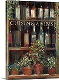 "Carol Rowanプレミアムシックラップキャンバス壁アート印刷題名ワインとハーブII 30"" x 40"" 1051084_24_30x40_none"