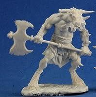 RPR77251 Bones Bloodhoof, Minotaur Barbarian Miniature Reaper