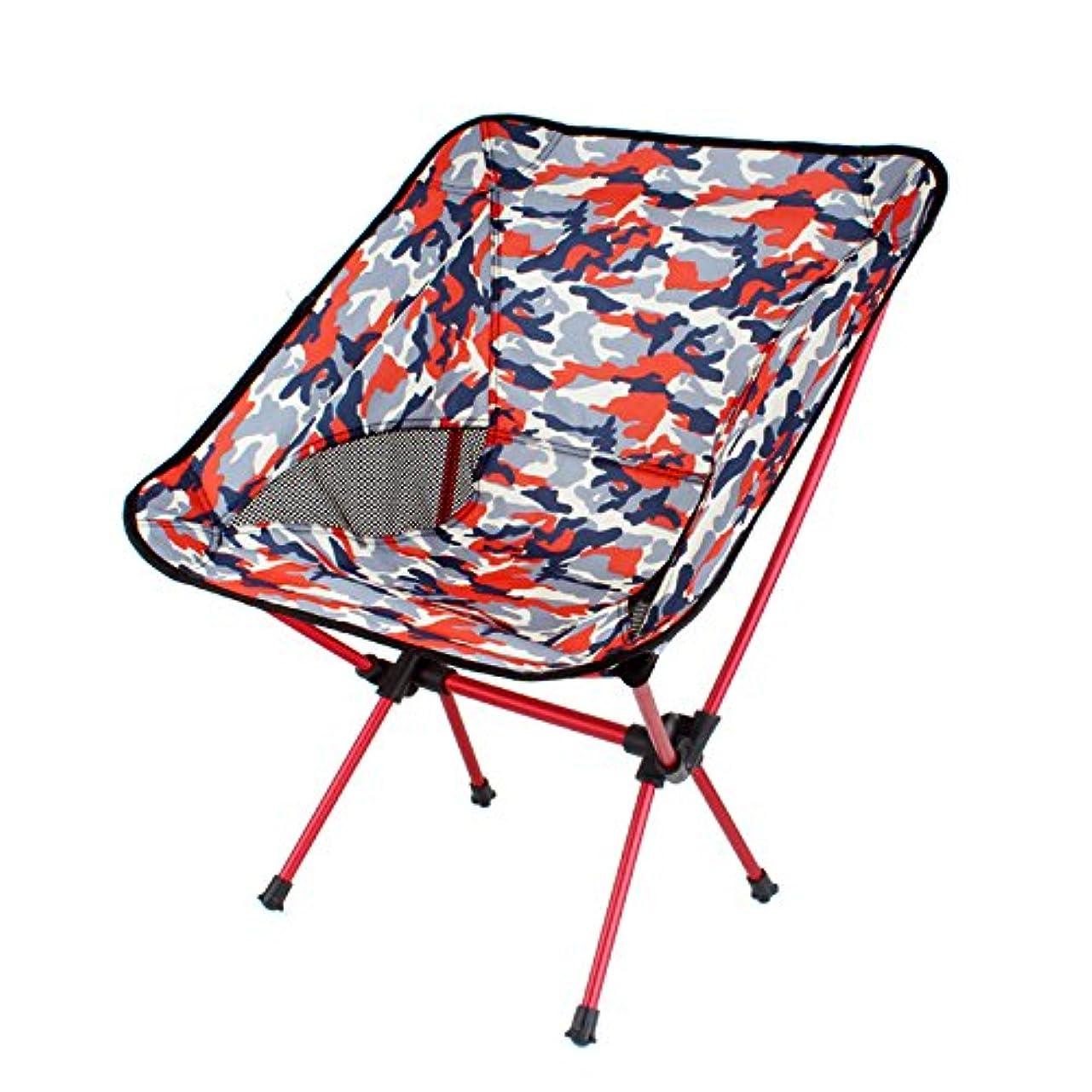 エトナ山既婚対応するOstulla ミニ超軽量折りたたみキャンプスツール屋外キャンプ折りたたみ椅子ポータブル折りたたみスツールバーベキューキャンプ釣り旅行、ハイキングガーデンビーチ屋外折りたたみ椅子モバイルチェアコンパクトスツールポータブルバーベキュー/釣り/キャンプ/グリルバーベキュー/ピクニック簡単組み立て強くて丈夫 気配りの行き届いたサービス (Color : Red)