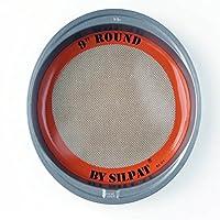 (23cm) - Silpat AE229007-01 Round Mat, 23cm 23cm, 23cm, Orange