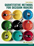 Cover of Quantitative Methods for Decision Makers 6th edn