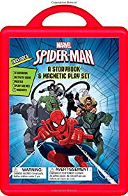 Spider-Man: An Amazing Book and Magnetic Play Set