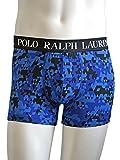 (ポロ ラルフローレン) POLO RALPH LAUREN メンズ ボクサー ブリーフ パンツ ストレッチ ボクサーパンツ ジオメトリック カモフラージュ [P998 RL] M(USサイズ) 2. blue [並行輸入品]