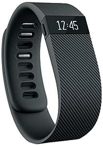 【日本正規代理店品】Fitbit ワイヤレス活動量計+睡眠計リストバンド Charge Large Black FB404BKL-JPN