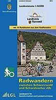 LGL BW 50 000 Rad Landkreis Rottweil 1:50 000: Radwandern zwischen Schwarzwald und Schwaebischer Alb
