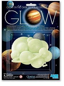 [4M]4M Glow 3D Solar System 3726 [並行輸入品]