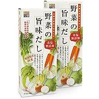 四季彩々野菜の旨みだし食塩無添加 3.5g×8袋×2個