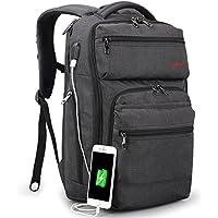 Tigernu ノートパソコンリュックサック 15.6インチのPCに対応 耐衝撃 撥水 大容量 ビジネスバックパック USB充電可能 多機能 通勤 出張 通学 旅行 男女兼用