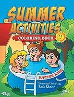 Summer Activities Coloring Book: Seasons Coloring Book Edition